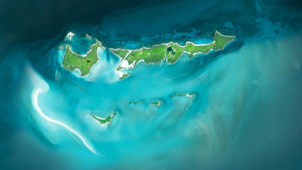 Musha Cay aerial view