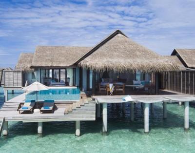 2 Bed Overwater Pool Residence – Anantara Kihavah